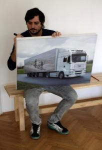 Adrian Preda, pictura la Hart Gallery
